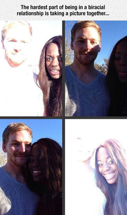 The hardest part of being in a biracial 