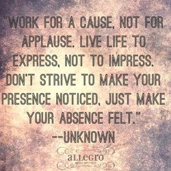 A CAUSEq NOT 