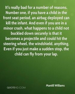 It's really bad for a number of reasons. 