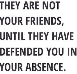THEY ARE NOT 