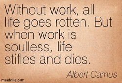 Without work/ all 