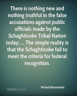 There is nothing new and 