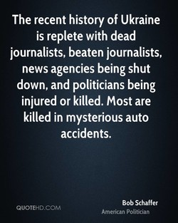 The recent history of Ukraine 