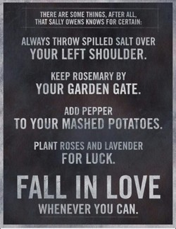 THERE ARE SOME THINGS, AFTER ALL, 