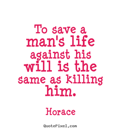 To save a 
