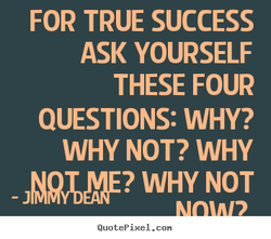 FOR TRUE SUCCESS 