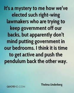 It's a mystery to me how weve 