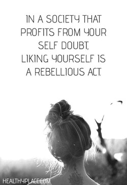 IN A SOCIETY THAT 