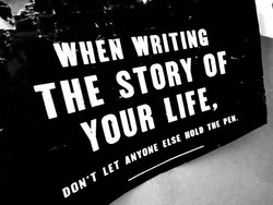 WHEN WRITING 