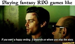 Pla ing fantas RPG ames like 