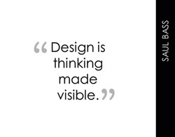 Design is 