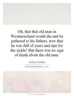 Oh, that that old man in 