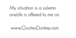 My situation is a so emn 