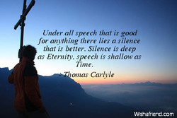 Under all speech that is good 