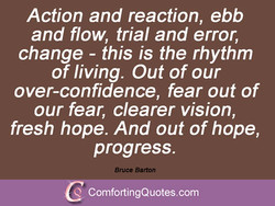 Action and reaction, ebb 