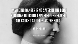 DANGER IS NO SAFER IN THE LONG 
