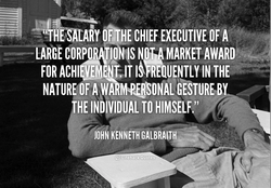 CHIEF EXECUTIVE OF A 