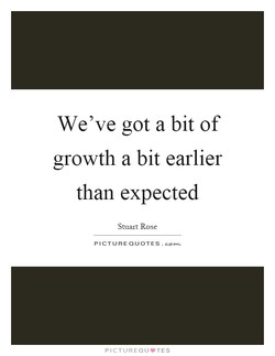 We've got a bit of 