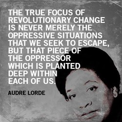 THE TRUE FOCUS OF 