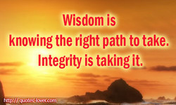 Wisdom is 