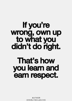If you're 