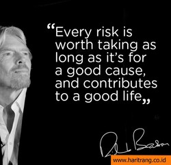 Every risk is 