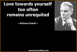 Love towards yourself 
