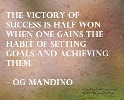 THE VICTORY OF 
