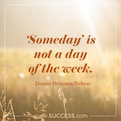 'Someday' is 