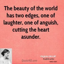 The beauty of the world 