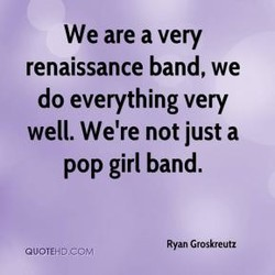 We are a very 
