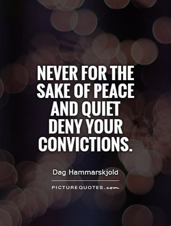 NEVER FOR THE 