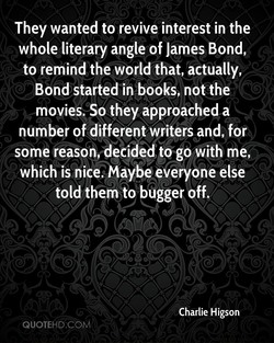 They wanted to revive interest in the 