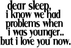 sleep, 