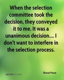 When the selection 