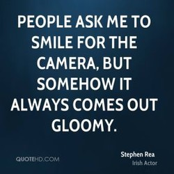 PEOPLE ASK ME TO 
