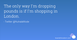 The only way I'm dropping 