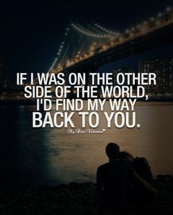 IF I WAS ON THE OTHER 