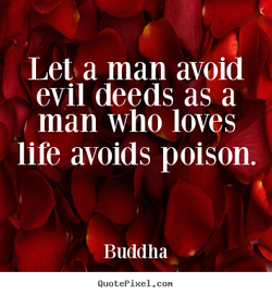 Let a man avoid 