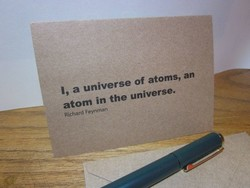 I, a universe of atoms, an 