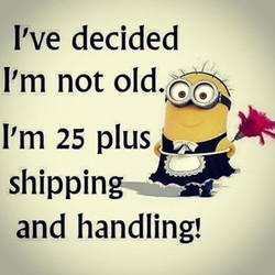 I've decided 