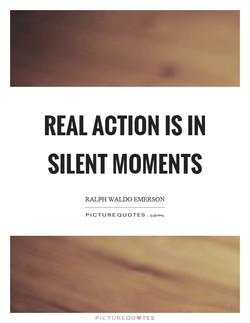 REAL ACTION IS IN 