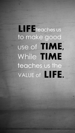 teaches us 