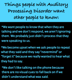 Thivvgs people with Auditory 