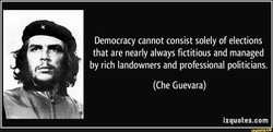 Democracy cannot consist solely of elections