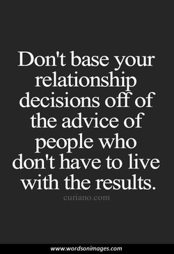 Don't base your 