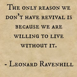 THE ONLY REASON WE 