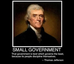 SMALL GOVERNMENT 
