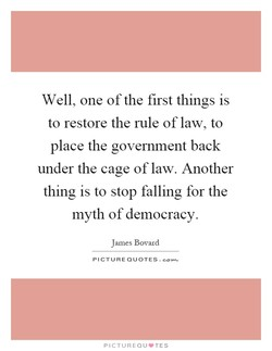 Well, one of the first things is 