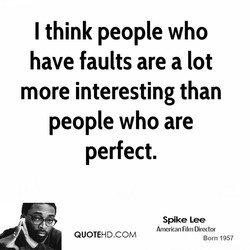 I think people who 